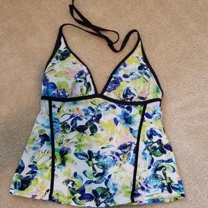 Kenneth Cole Watercolor Tankini
